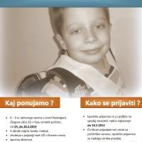 Počitniško varstvo za prvošolčke