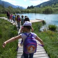 Utrinki z vrtca v naravi – Planica in končno poročilo