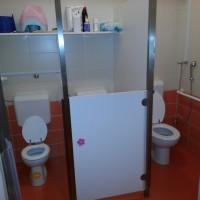 Nove sanitarije v Škratku
