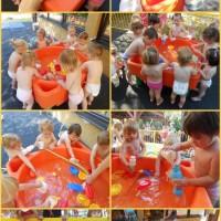 Mini vodni park pri najmlajših