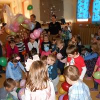 Čajanka in novoletni ples