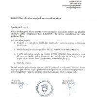 Prejemanje E-računa za plačilo storitev vrtca