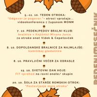 Pedenjmesečnik OKTOBER 2020