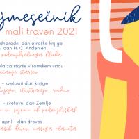 Pedenjmesečnik MALI TRAVEN 2021